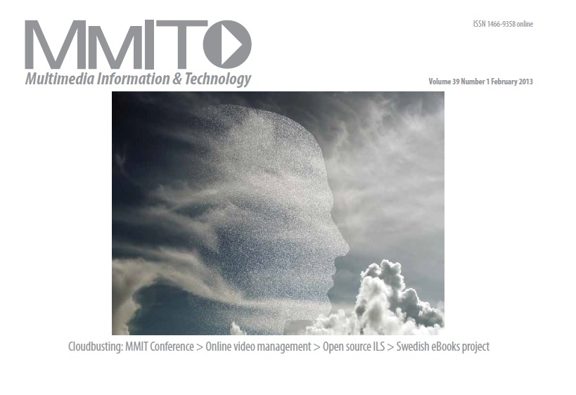 The current issue of the Multimedia Information and Technology Journal