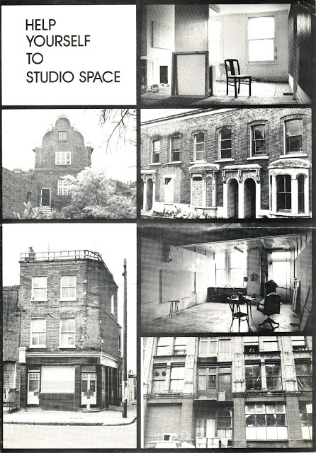 This is an image of a publication between Acme, SPACE and the Arts Council of Great Britain, The image is courtesy of the Third Eye Centre/CCA