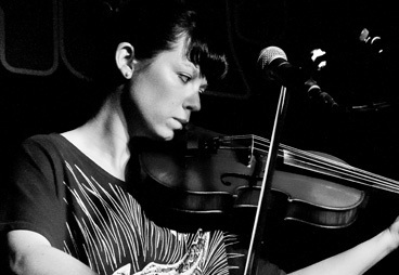 Kim Moore (Zoey van Goey) was commissioned to create a live score to accompany the screening