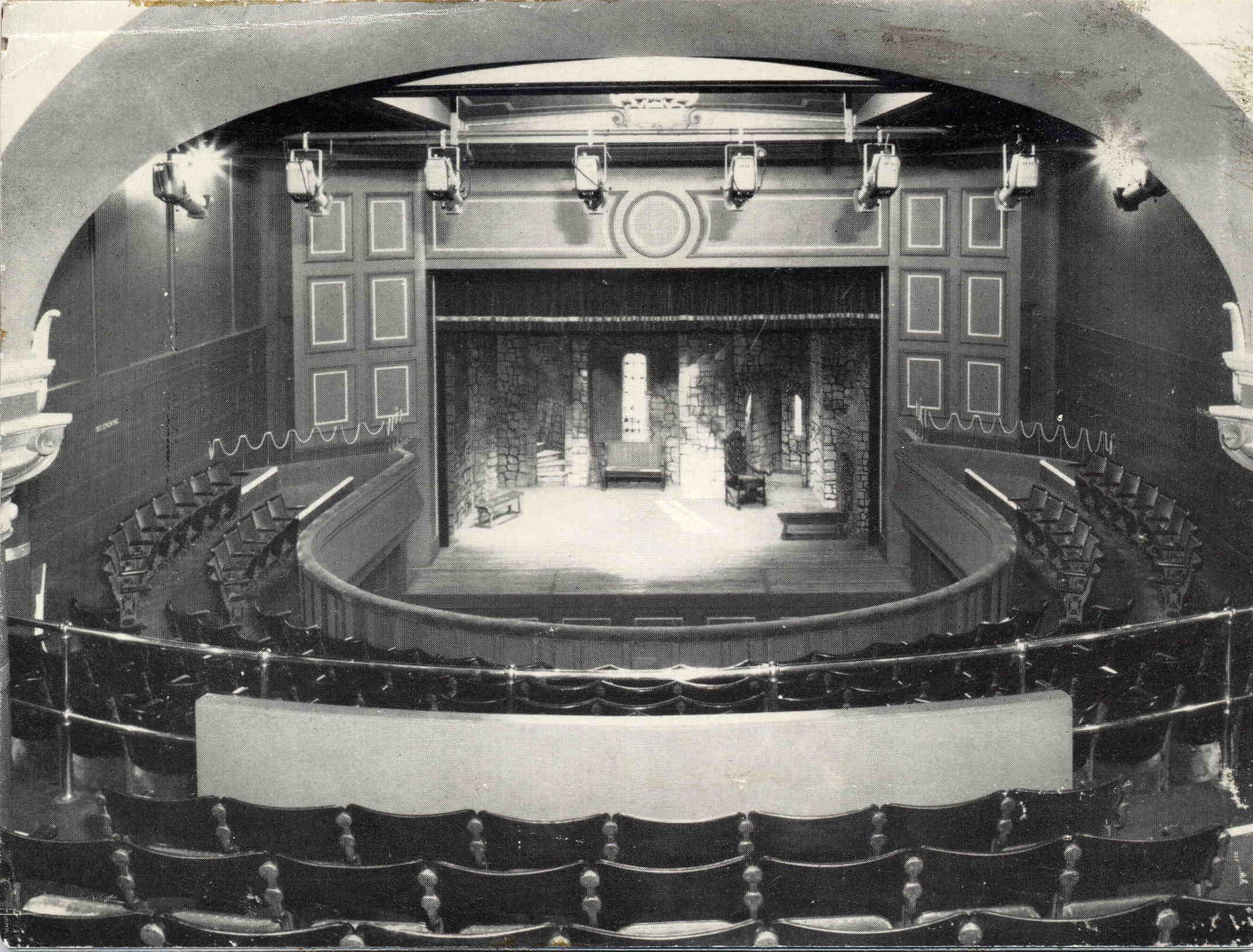 Old Athenaeum Theatre in Glasgow Athenaeum Building