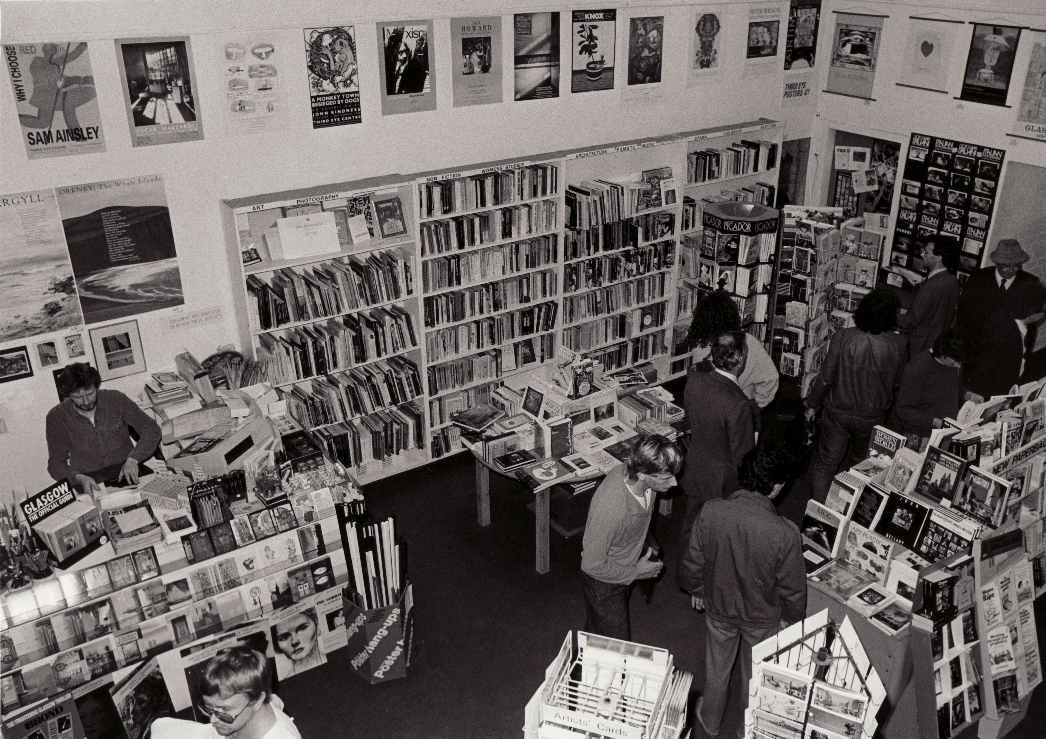 Third Eye Centre Bookshop, 1980s
