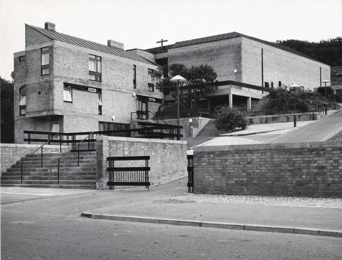 GKC/CCK/2/1/1 St Martin's Church, Castlemilk, Glasgow, 1961