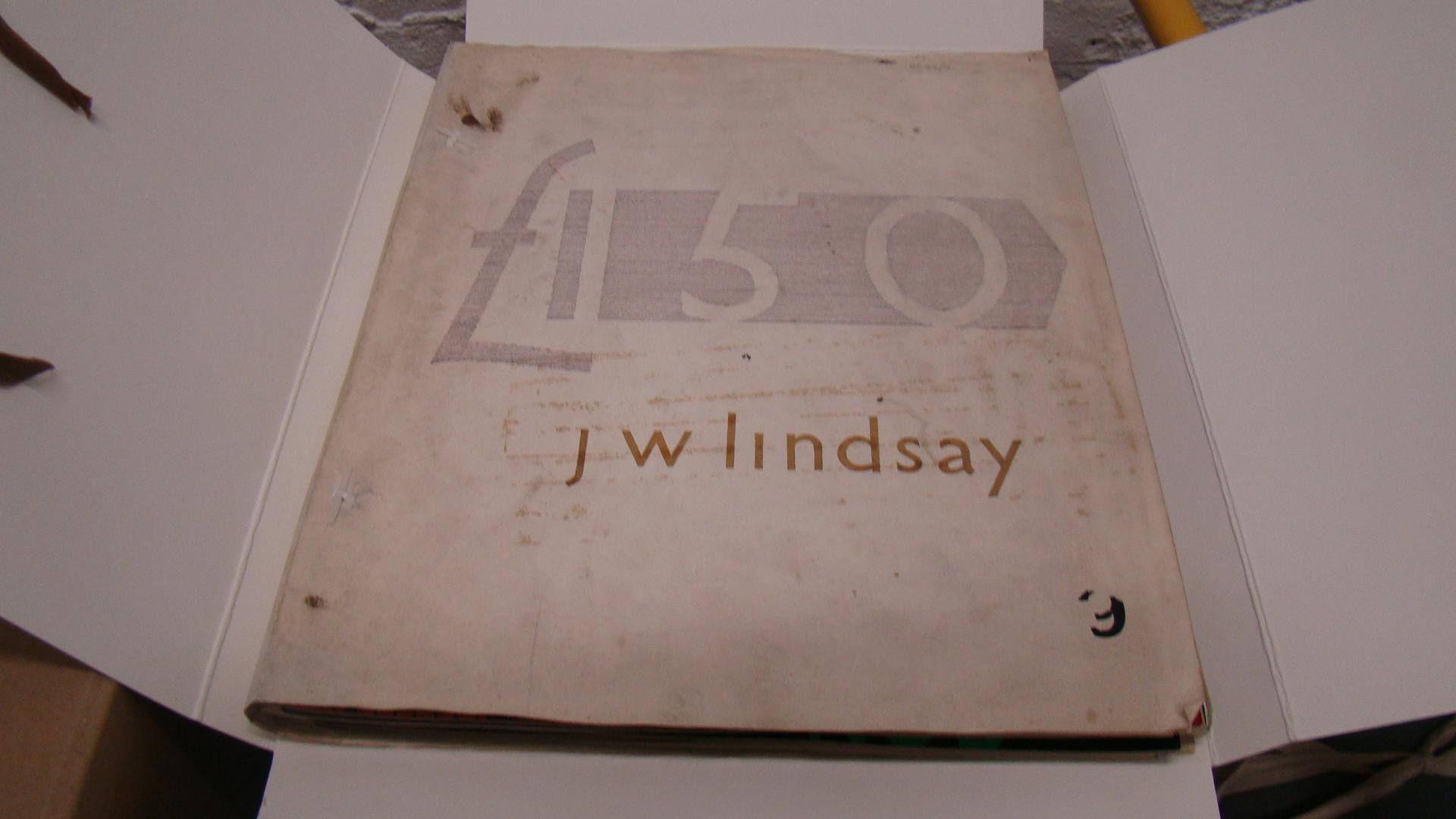 Jack Lindsay travel diary