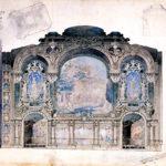 NMC_377, Bourdon architectural sketch