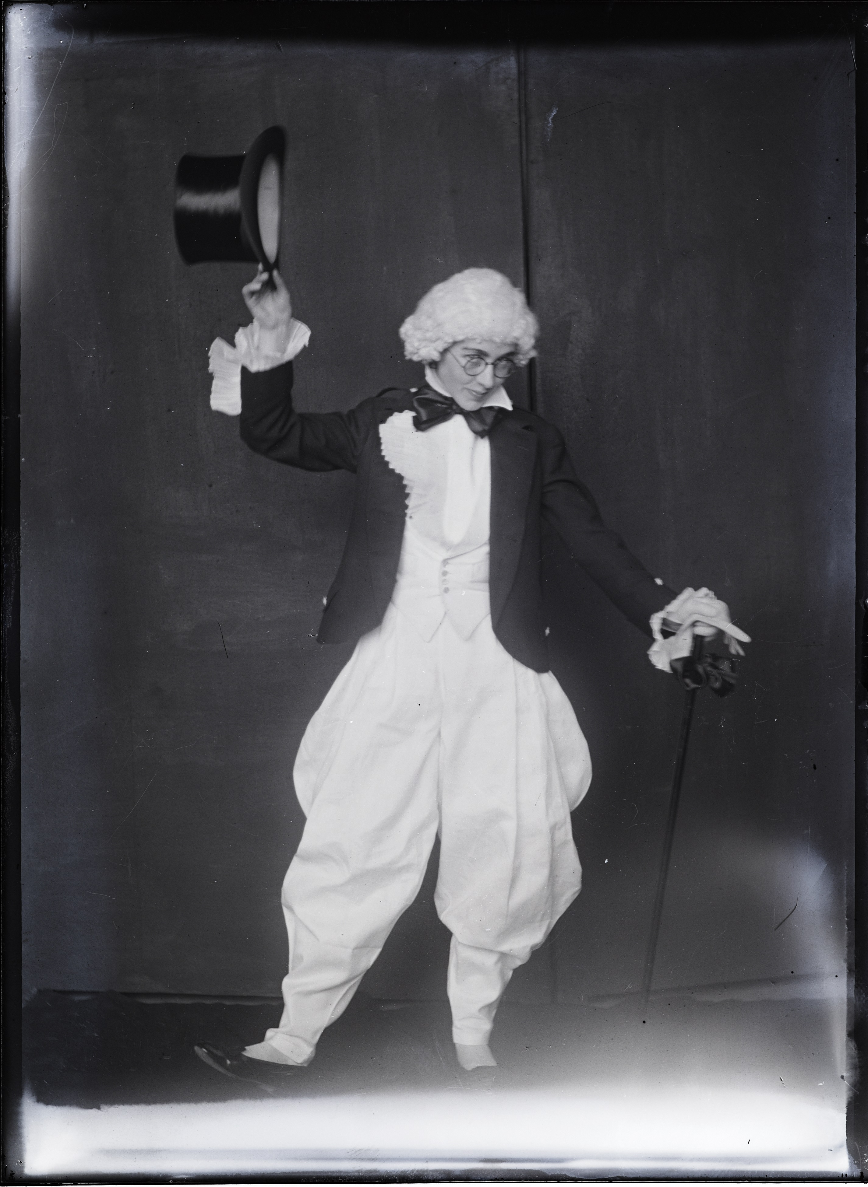 GSA student in costume, early 1900s
