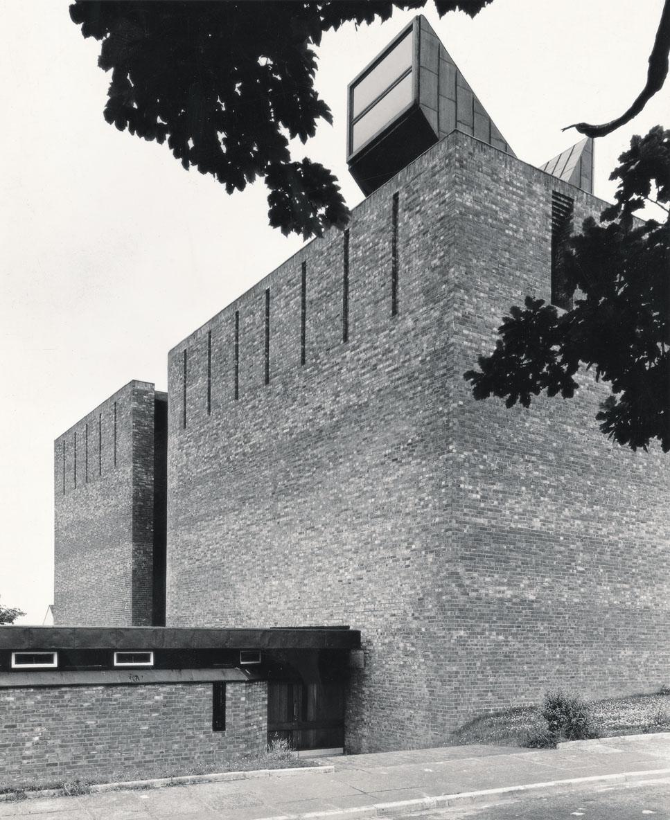 GKC/CEK/2/2/30 Gillespie, Kidd & Coia's St Bride's church in East Kilbride