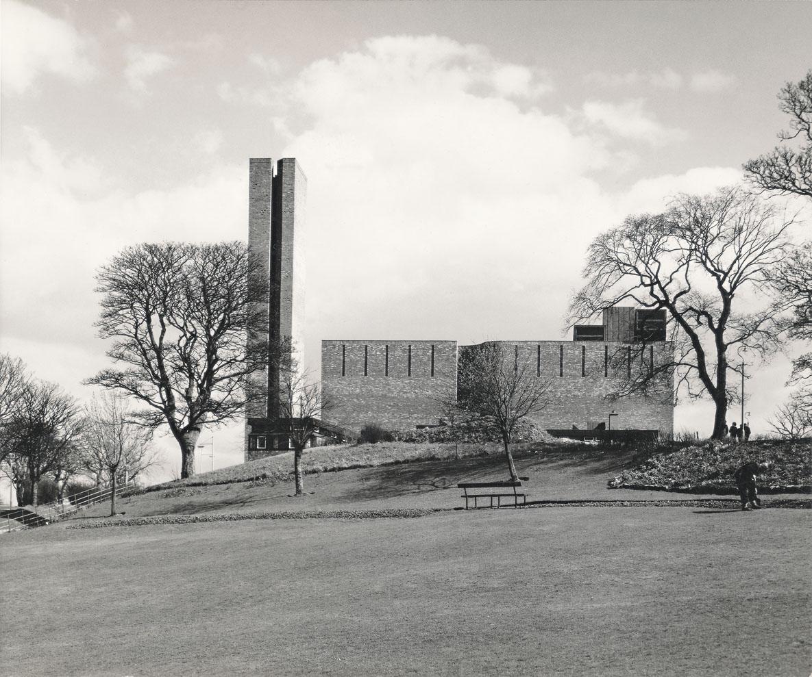 GKCCEK/2/2/31 Gillespie, Kidd & Coia's St Bride's church, East Kilbride