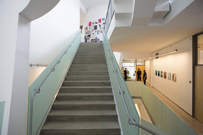Second floor of The Reid Building