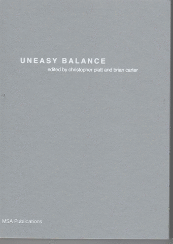 'Uneasy Balance' Front Cover