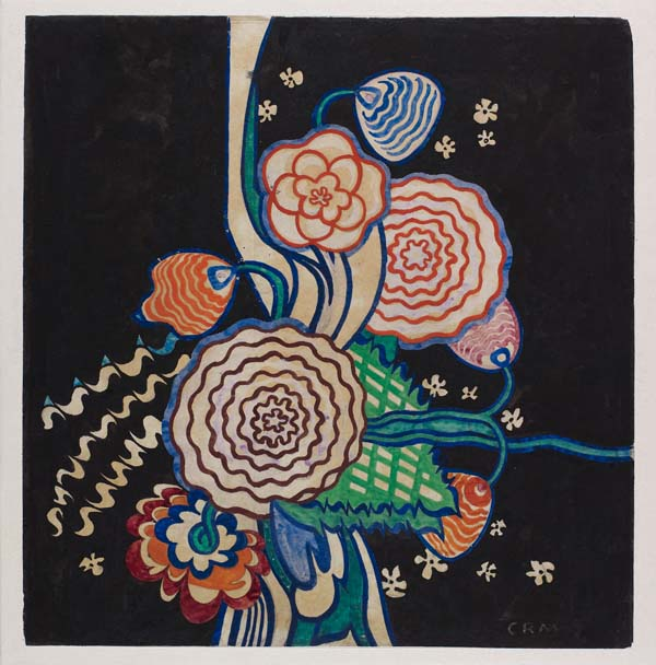 Watercolour by Charles Rennie Mackintosh, 1918-1920