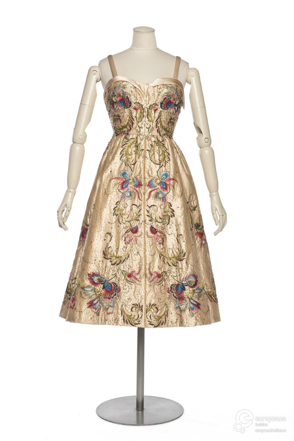Evening Dress, Christian Dior, 1950, Les Arts Décoratifs, Paris