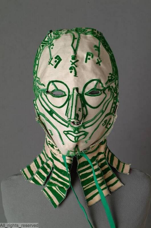 Mask, c1990s, ModeMuseum Provincie Antwerpen