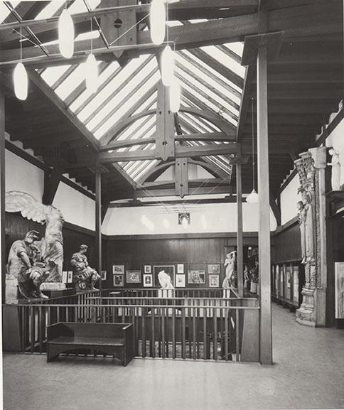 GSAA/P/7/142 Mackintosh Building Museum Space