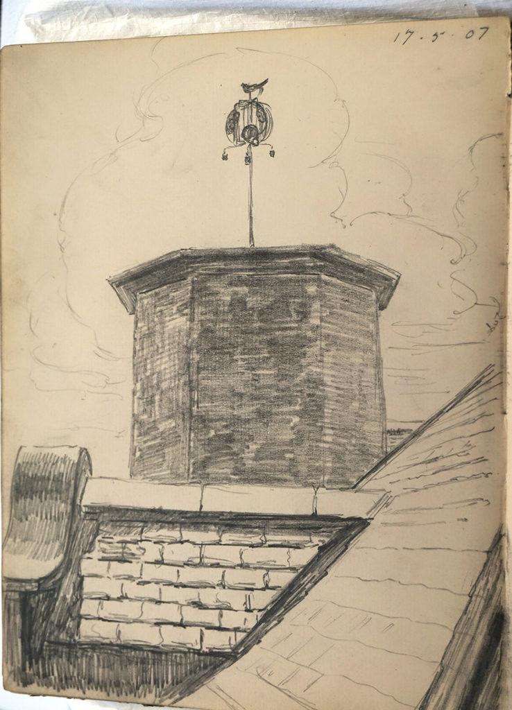 Alexander Logan Jackson Sketchbook '17/05/07'