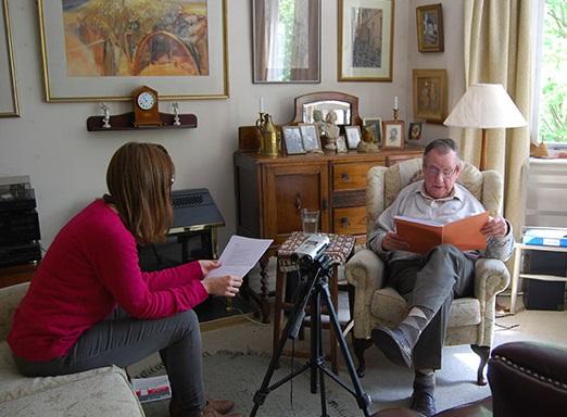 Archivist Susannah Waters interviews Conrad McKenna