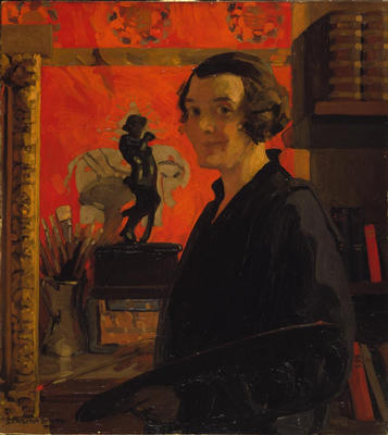 Self Portrait by Dorothy Carleton Smyth. Image courtesy of The Glasgow Story