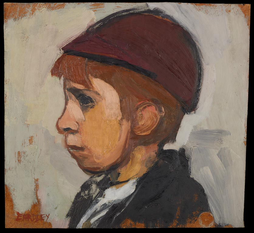 Boy's Head. Image courtesy of the Government Art Collection