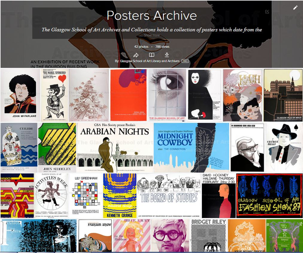 GSA Archives and Collections Flickr. Poster Archive