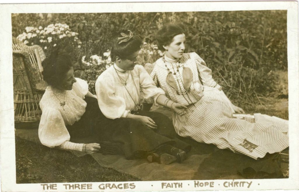 Image taken by Allan Mainds - Mary Hogg is to the far right)