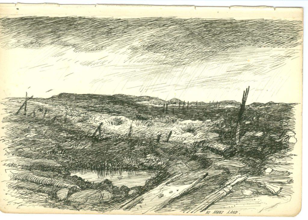 Allan D. Mainds sketch