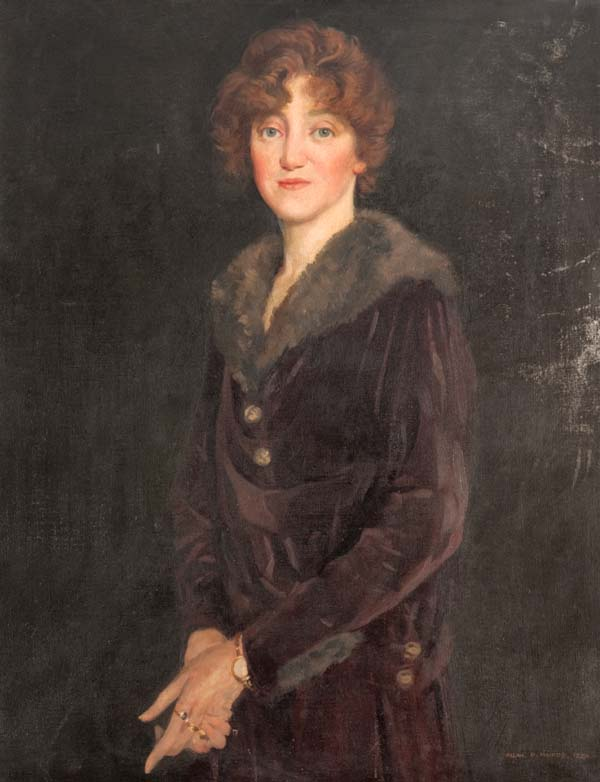 Portrait of Marion Osborne Blythe (nee Dempster) Archive reference: NMC/024)