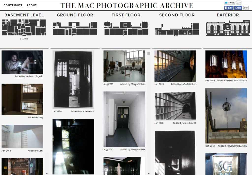 Snapshot of The Mac Photographic Archive