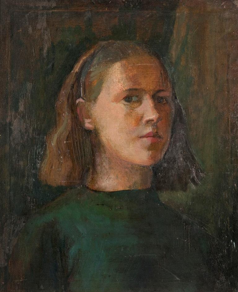 Cordelia Oliver Self Portrait (Archive reference: NMC/1023)