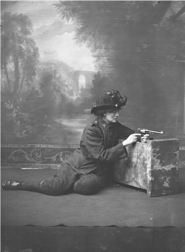 Constance in the Citizen Army uniform. Image courtesy of the National Library of Ireland.